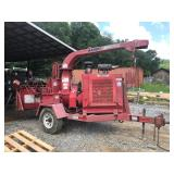 "BANDIT 250XP 12"" CHIPPER, CUMMINS DSL, AUTO FEED"