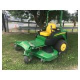 "JOHN DEERE 997 ZERO TURN MOWER, DSL, 72"" DECK, 359 HRS"