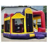INFLATABLE 5 IN 1 W/ NINJA SLIDE