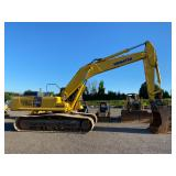 "KOMATSU PC400LC, C/H/A, 36"" TRACK PADS, 72"" BUCKET, SHOWING 14,025 HRS, S/N A86649"