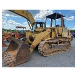 CAT 953 TRACK LOADER, OROPS, SHOWING 10,187 HRS, S/N # 76Y01098
