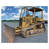 "CAT D4H DOZER, HIGH TRACK, 22"" TRACK PADS, OROPS, 10"