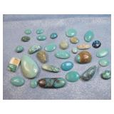 Assorted Stone Cabochons