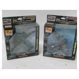 Two NIP 1:72 Scale Plastic Model Airplanes