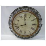 """20"""" Diameter Sterling & Noble Wall Clock Untested"""