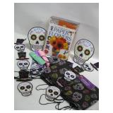 Day Of The Dead Decorations As Shown