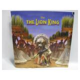 """The Lion King Musical Play Program  12""""x 12"""""""