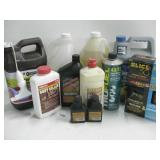 Assorted Household Chemicals As Shown