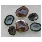 Miniature Sliced & Polished Geodes