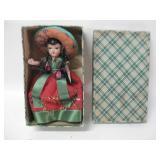 "6"" Vintage Plastic Doll In Box"
