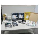 Assorted Office Supplies Some New Packages