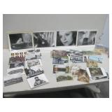 Assorted Vintage Post Cards & Movie Photos