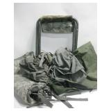 Military Field Bags & Foldable Stool