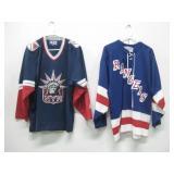 2 NY Rangers Hockey Jersey