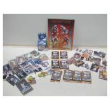 Assorted Collection Of Sports Cards, Packs & More