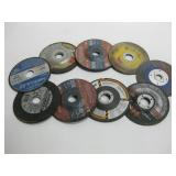 """9 Miscellaneous 4.5"""" Cut-off & Grinding Disks"""