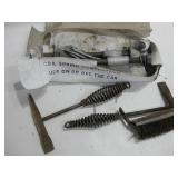 Two Welding Hammers & Coil Sping Compressor