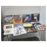 Assorted Vintage Albums Mostly Rock