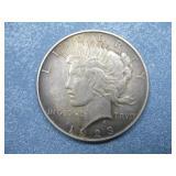 1923 Silver Peace Dollar 90% Silver