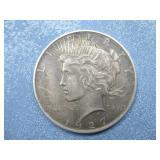 1927 Silver Peace Dollar 90% Silver