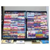 Two Flats Full Of Paperback Novels As Shown