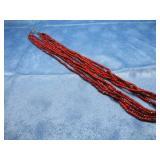 Vintage Beaded Southwest Necklace Unmarked