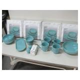Four New Boxes & All Shown Turquoise Fiesta Dishes