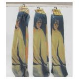 Three NIP Walking Dead Tube Socks