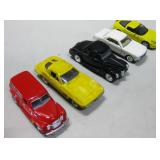 "Five Assorted 5"" Metal & Plastic Cars"