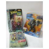 Three NIP Assorted Action Figures As Shown
