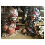 Native American Statues