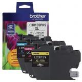Brother Printer Genuine LC30133PKS 3-Pack
