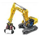 Technic Technik chain crawler excavator with grip
