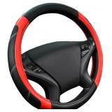 Leather Universal Wheel Cover