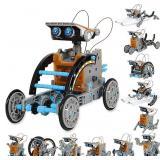 STEM 12-in-1 Education Solar Robot Toys -190 Pcs