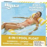Aqua 4-in-1 Monterey Pool Hammock & Float