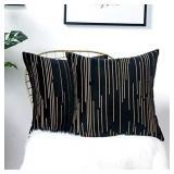 Zeroomade Decorative Throw Pillow Covers Velvet