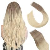 Ugeat Tape in Human Hair Extensions 22inch