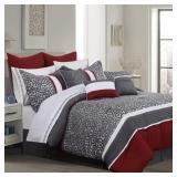 Safdie & Co. Sumatra, KING 7-pc Comforter Set