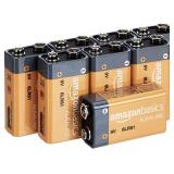 8-PK - AB 9 Volt Everyday Alkaline Batteries