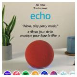 Echo (4th Gen) | With premium sound, - READ NOTE