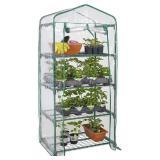 LIVINGbasics 4 Tier Portable Mini Greenhouse