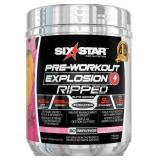 Six Star Elite Series Ripped Pre Workout + Weight