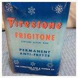 Firestone Frigitone Tin w/ half top cut out