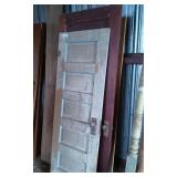 4) Old Doors, some painted