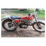 Bultaco Model 350 Dirt Bike, Sherpa T , no title,