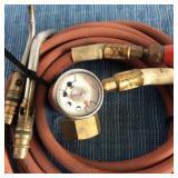 Turbo Cutting Torch Model AR-B Hoses & Gauge