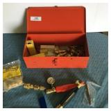 Red Toolbox Torch Fittings & Misc
