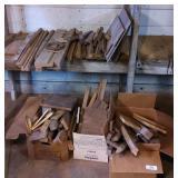 Scrap Lumber, Some Black Walnut, Wooden Crate