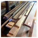 Pile of Oak Lumber, sawhorses not included